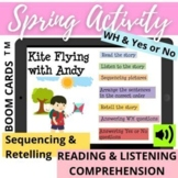 Spring SUMMER Sequencing WH Reading Listening Comprehension Story Retell – BOOM