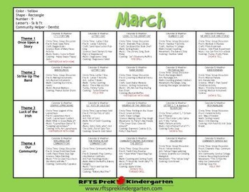 SPRING 12 LESSON PLANS Bundle [MARCH ~ APRIL ~ MAY] Series 1