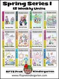SPRING 12 LESSON PLANS Curriculum Bundle [MARCH ~ APRIL ~