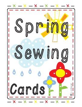 Spring Sewing Cards FREEBIE
