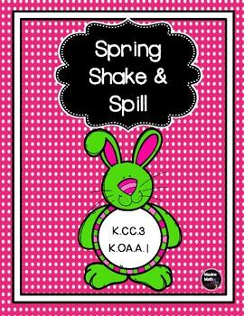 Spring Shake & Spill  K.CC.A.3  K.OA.A.1