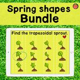 Spring Shapes Boom Bundle   12 Shape Identification Games