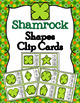 Spring Shapes Clip Cards Bundle