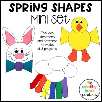 Shape Craft Mini Bundle {Spring}