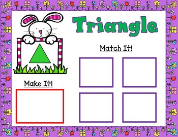 Shapes Learning Mats