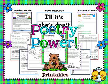 Poem of the Week: Spring Poetry Power! FREEBIE