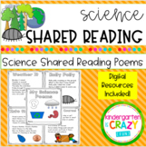 Science Shared Reading Poems - Distance Learning