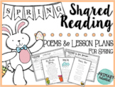 Spring Shared Reading: Poems and Lesson Plans