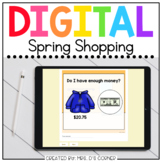 Spring Shopping Digital Activity | Distance Learning