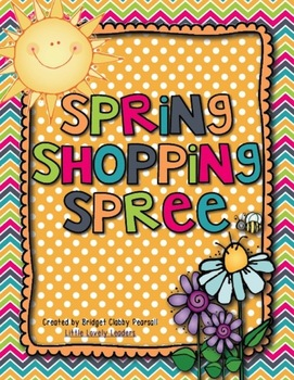 Spring Shopping Spree - Adding and Subtracting Decimals