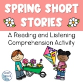 Spring Short Stories: A Reading Comprehension Boom Deck