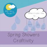 Spring Showers Craftivity