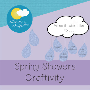 Spring Showers Craftivity