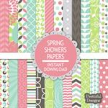 Spring Showers Paper Pack