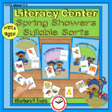 SYLLABLES: Syllable Sorts, Syllables Literacy Center, Phon
