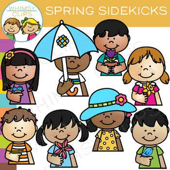 Sidekicks Spring Clip Art