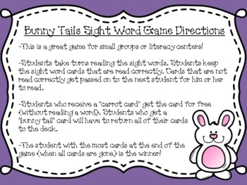 Spring Sight Word Activity Pack