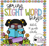Spring Sight Word Bingo {Dolch 1st Grade}
