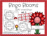 Spring Sight Word Bingo Learning Center Game  Set 3 - Fry