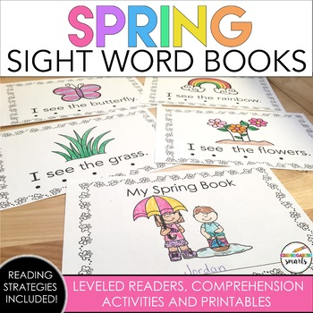 Spring Sight Word Book