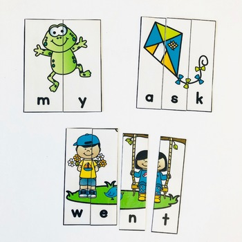 Spring Sight Word Centers