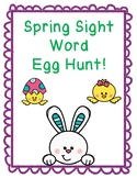 Spring Sight Word Eggs!