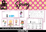 Spring Sight Word Fluency Flip Books