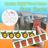 Spring High-Frequency Word Game (First Grade)