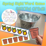 Second Grade Sight Word Game (Spring)