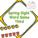 Spring High-Frequency Word Game (Third Grade)