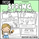 Spring Sight Word Reader - FREEBIE | Kindergarten | Distan