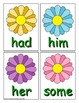 Spring Sight Word Recognition Center or Whole Group Game for First Grade