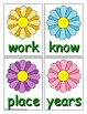 Spring Sight Word Recognition Center or Whole Group Game for Fry 101-200