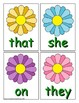 Spring Sight Word Recognition Center or Whole Group Game for Primer