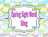 Spring Sight Word Sting Game ~ Using Fry Words