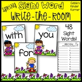 Spring Sight Word Write-Around-The-Room