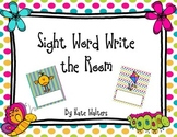 Spring Sight Word Write the Room {Aligned to the Common Core}