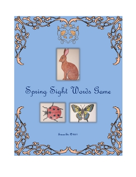 Spring Sight Words Game