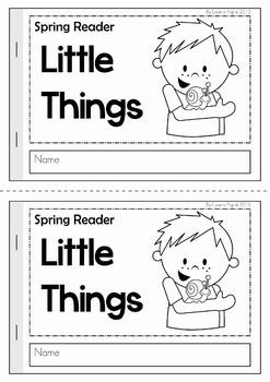 Spring Sight Word Readers