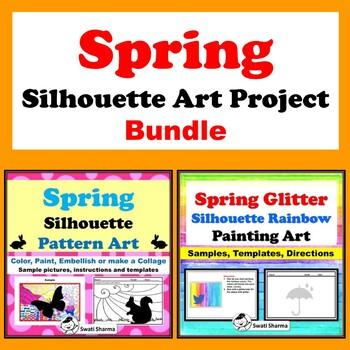 Spring Silhouette Art Project Bundle