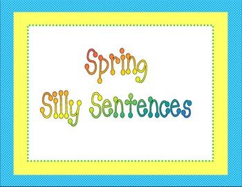 Spring Silly Sentences