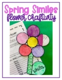 Spring Simile and Figurative Language Craftivity