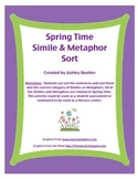 Spring Simile and Metaphor Sort