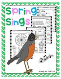 Spring Sings (Reading Comprehension and Literacy)