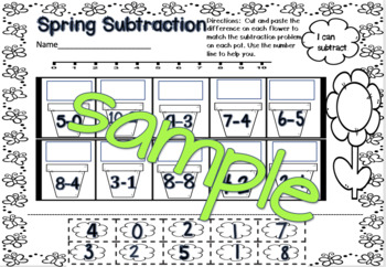 K Spring Sings (ebook Math, and Literacy)