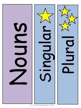 Spring Singular and Plural Noun Sort