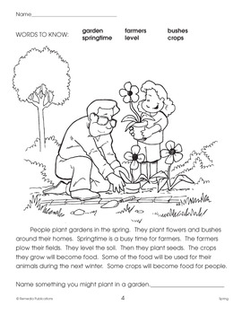 Spring Skill-Builder Activities for All Subjects
