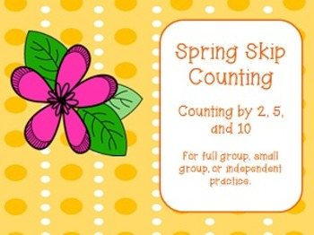 Spring Skip Counting