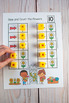 Spring Slide & Count Math  (One to One Correspondence for