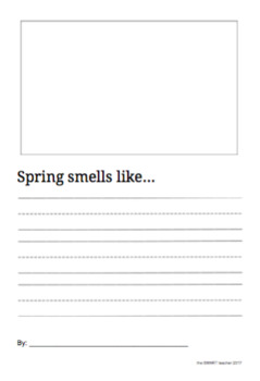 Spring Smells Like Writing Prompt